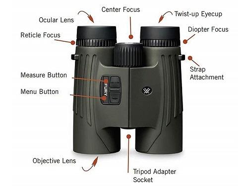 The Vortex Fury HD Laser Rangefinder Binoculars